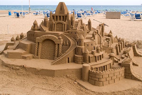 Construcciones de arena cultura dec for Construcciones efimeras