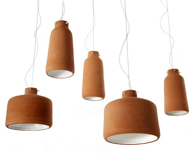 Lámparas artesanales.