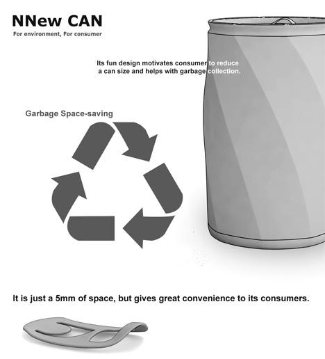 Nuevo concepto de lata para beber