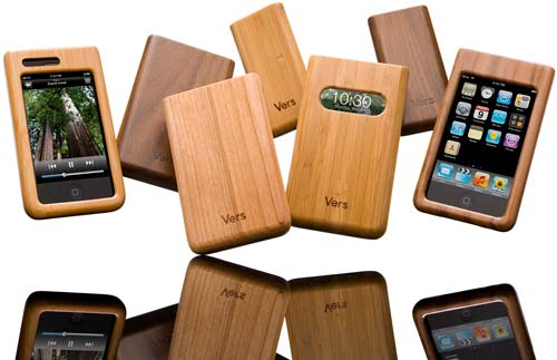 carcasas de madera ecológicas