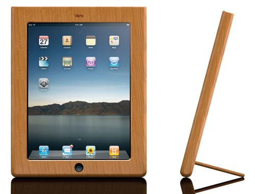 carcasas de madera para iPad muy pronto