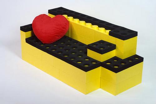 Muebles de diseño con Piezas de Lego – Cultura decó