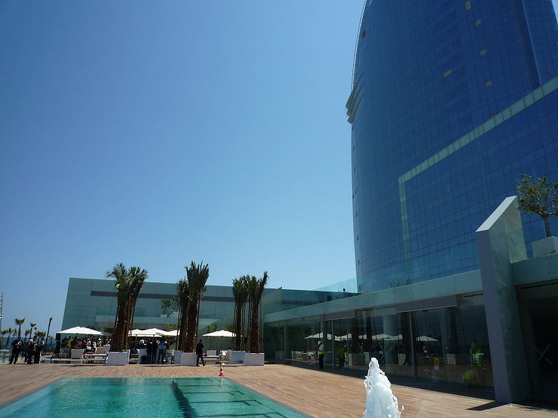 El hotel vela cultura dec for Spa hotel w barcelona