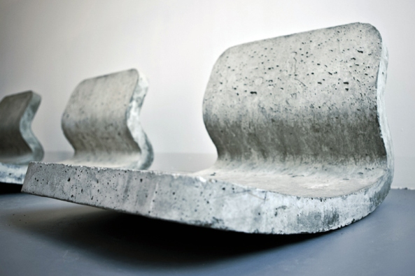 'concrete rocking chair' by metrofarm