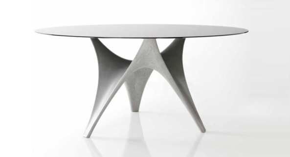 'arc table' by foster + partners