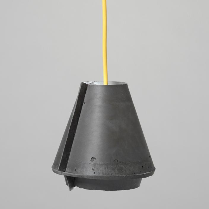 'folded concrete objects' by tim mackerodt