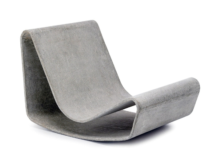 'loop chair' by willy guhl