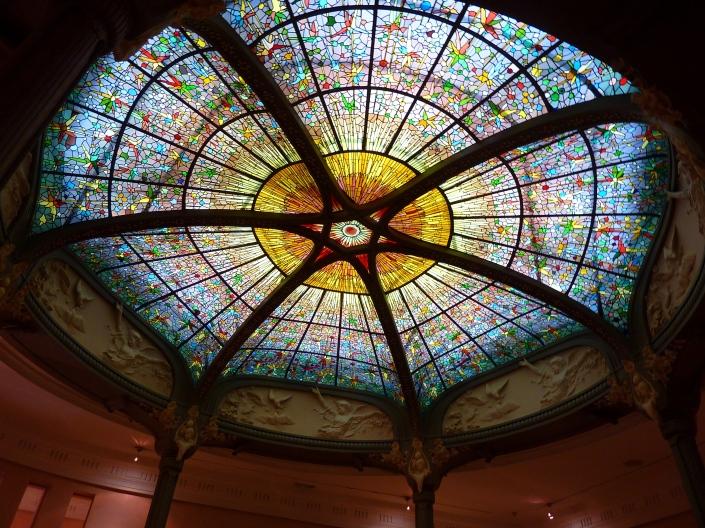 Cúpula Palacio Longoria