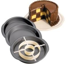 Molde para tartas Ajedrez