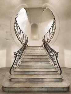 Escalera señorial