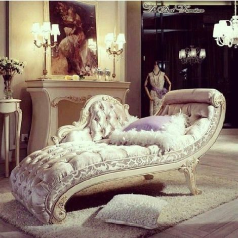 Chaiselongue con tapizado capitoné