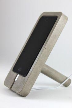 Soporte tablet cemento