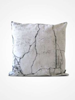 Cojín apariencia cemento