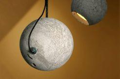 Lámpara cemento