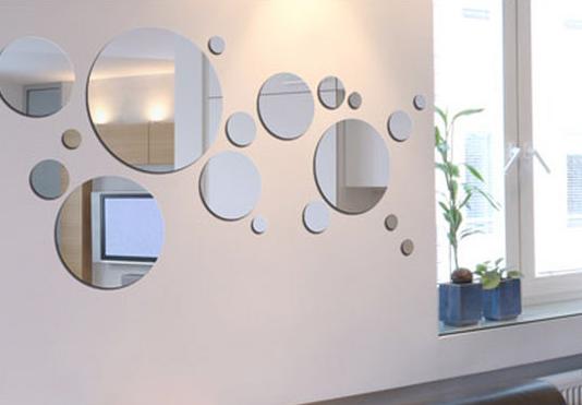 Decorar los ambientes paredes con espejos cultura dec for Paredes con espejos