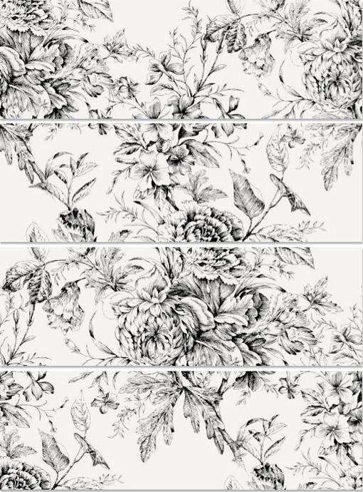 BLANCO BRILLO: Frunce-4 - 25x75   (pb)cm. | Revestimiento - Pasta Blanca | VIVES Azulejos y Gres S.A.