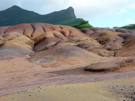 Tierra de colores. Isla Mauricio
