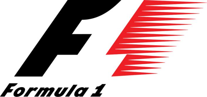 Esta es bien fácil, ya que el espacio en blanco entre la F y el patrón rojo enseña el número 1 tan particular de este deporte del automovilismo.