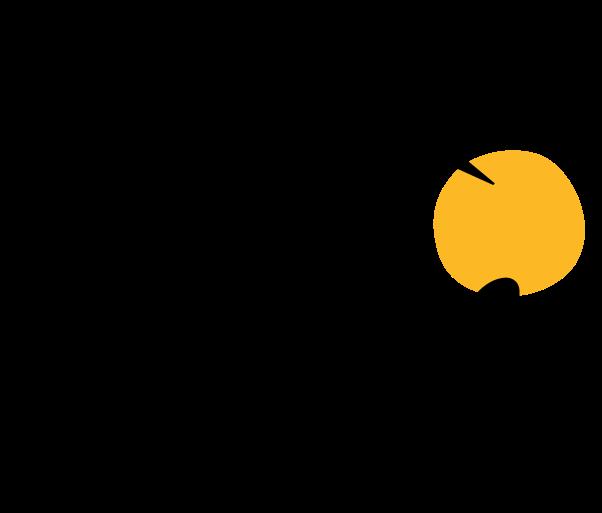 El círculo en amarillo del Tour de Francia marca lo que es la rueda de una bicicleta, mientras la 'R' de 'Tour' ha sido dibujada para que parezca un ciclista.