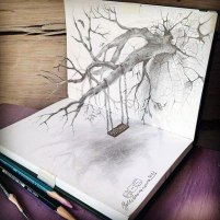 3d-pencil-drawings-Julia_Barinova