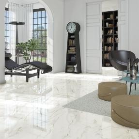TITÁN: Semele Blanco - 60x60cm. | Pavimento - Pasta Porcelánica | VIVES Azulejos y Gres S.A.