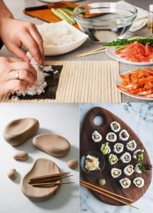 preparación sushi