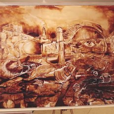 Inkredible-Coffee-artist-James-Patrick-paints-with-100-cups-of-Coffee1__880