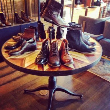Mesa en la tienda