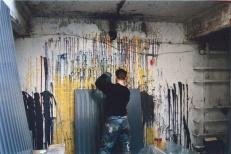 1993 in his studio