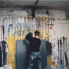 1993 in his studio