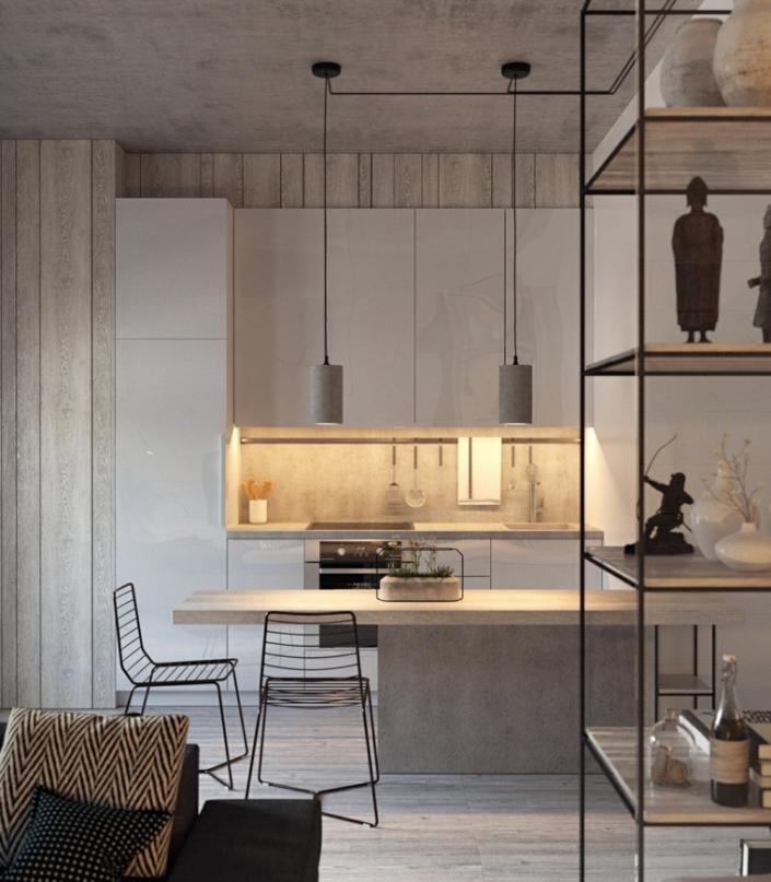color-gris-cocinas-madera-gris-claro