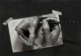 Jono+Dry+Art+Pencil+Drawing+-+Creation+(Escher+Tribute)
