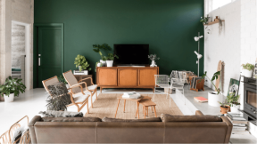 maison-ecologique-australie-liliinwonderland-salon-mur-vert-1