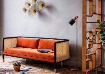 maisonobjet-paris-2018-canape-orange-velours-red-edition-tendances-deco-e1516715914241