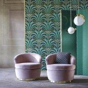 papier-peint-art-deco-vert-zoffany-themuse