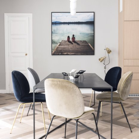 salle-manger-chaise-velours