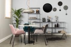 tendance-velours-2018-chaises-velours-salle-manger-Brit-Zuiver