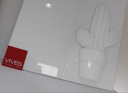 Cactus Blanco Brillo 30x60cm
