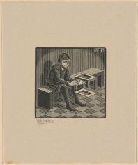man with cuboid