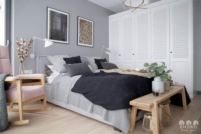 Un hogar en escala de grises