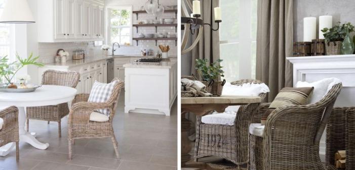 decorar-con-sillas-de-mimbre-de-comedor