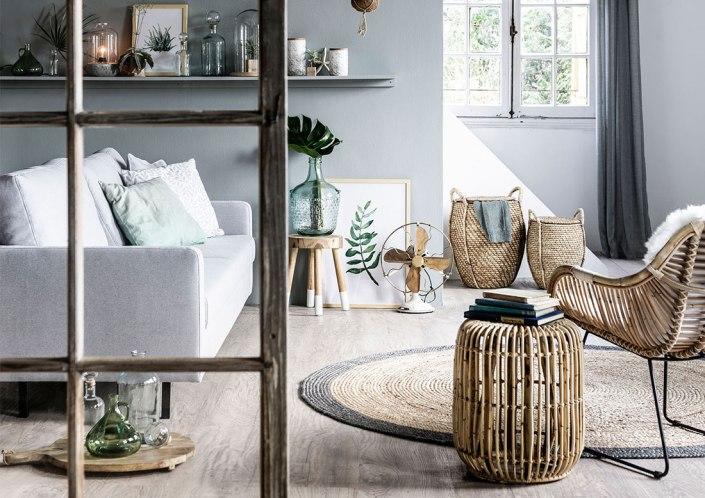 Decora con fibra y refresca tu casa