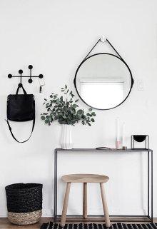 drecibidor-entrada-blanco-y-negro-estilo-nordico