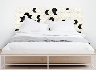 hexagonos-art-deco-vinilo-cabecero-de-cama-lokoloko