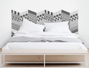 vinilo-losas-geometricas-en-espiga-cabecero-cama-lokoloko
